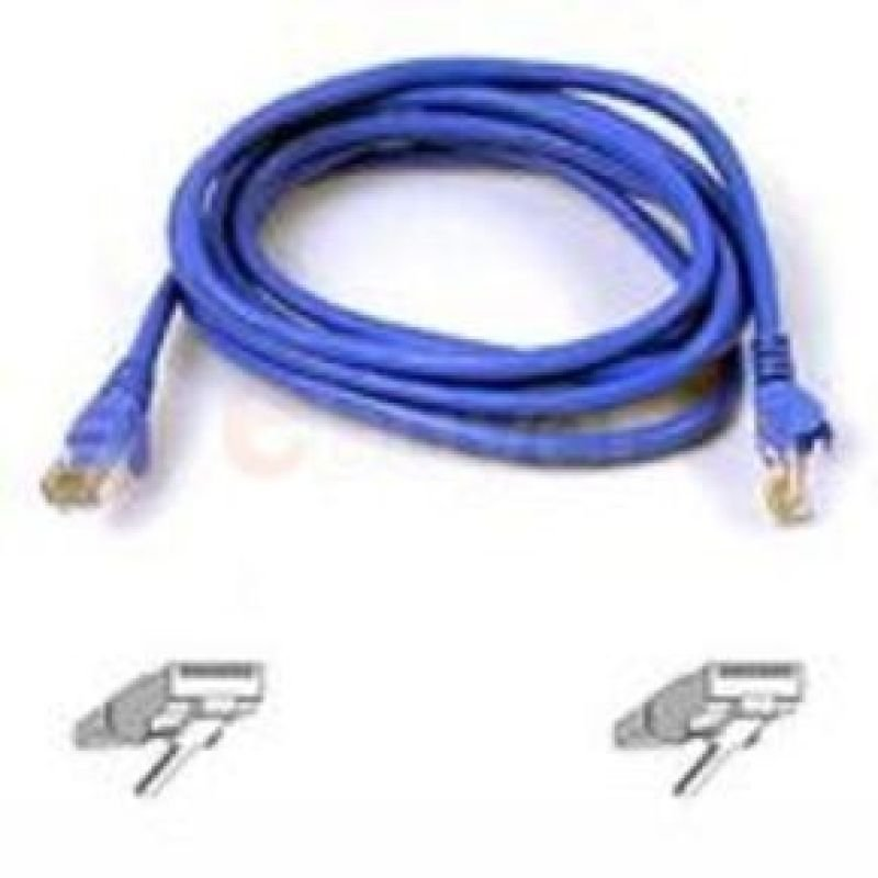Belkin Cat6 Snagless UTP Patch Cable (Blue) 1m