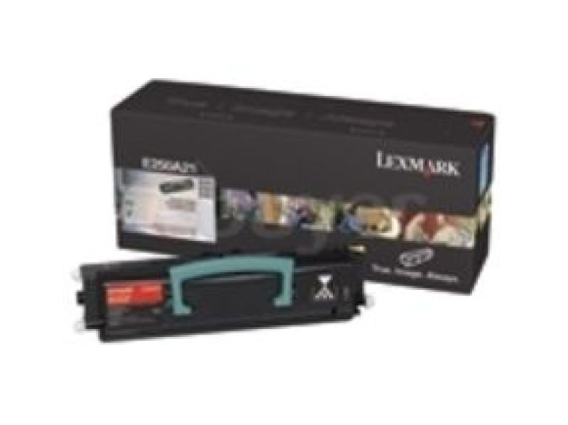 Lexmark 0E250A11E Return Program Black Toner Cartridge 3500 Pages