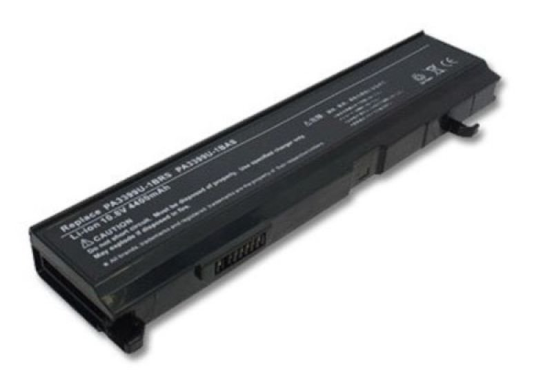 Image of V7 Toshiba Laptop Battery - Lithium Ion 4400 mAh - For Satellite M40, M45, M50, M55, A100, M100, A105, M105, M110
