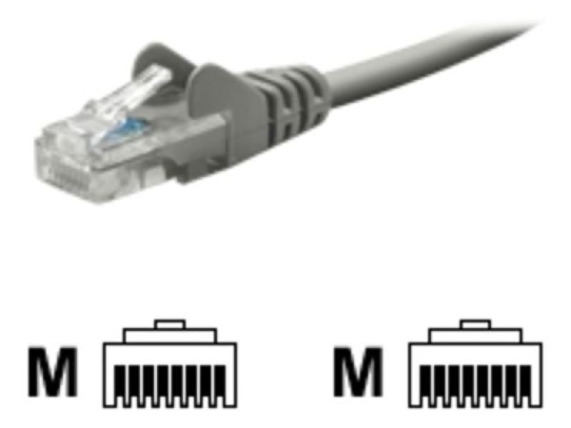 Belkin Cat5e Snagless Patch Cable (Grey), 2m