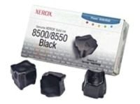 Ink Cartridge Black Solid 3pcs - F/ Phaser 8500/8550 Ns