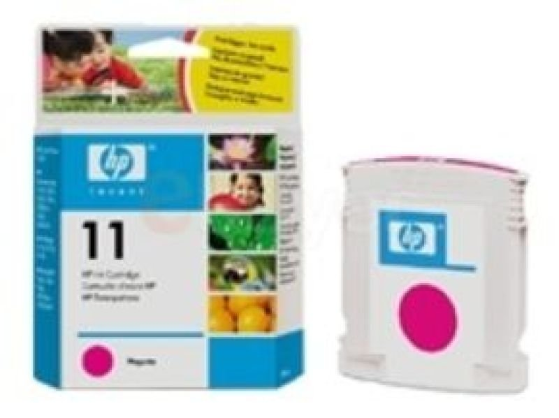 HP 11 Magenta Original Ink Cartridge - Standard Yield2000 Pages - C4837AE