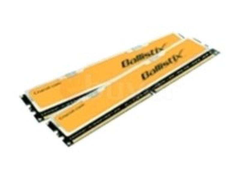Crucial 2GB Kit (2x1GB) DDR2 1066MHz/PC2-8500 Ballistix Memory Non-ECC Unbuffered CL5 Lifetime Warranty
