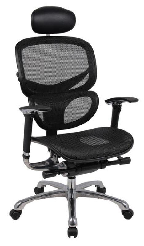Image of HH Solutions Ergonomics4Work Wave Full Mesh Chair - Black