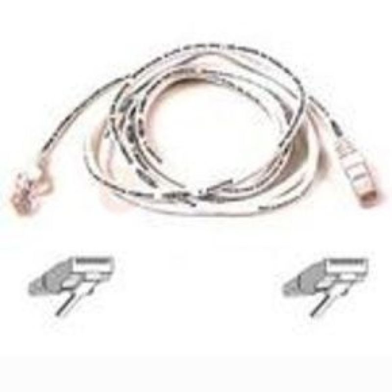Belkin Cat6 Snagless UTP Patch Cable (White) 5m