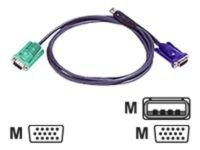 ATEN 2L-5201U Keyboard / video / mouse (KVM) cable 1.2m