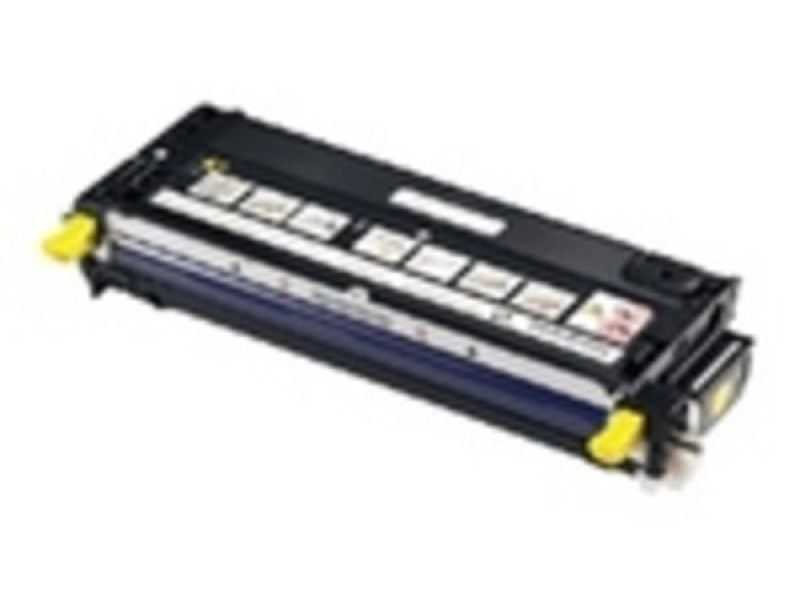 Dell - Toner cartridge - high capacity - 1 x yellow - 8000 pages