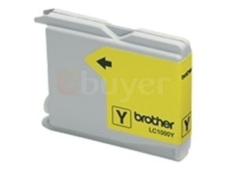 Brother LC1000Y Yellow Ink Cartridge