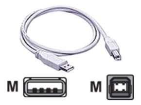 Extra Value Hi-Speed USB 2.0 Device Cable 1.8m