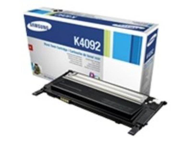Samsung CLT-K4092S Black Toner Cartridge - 1,500
