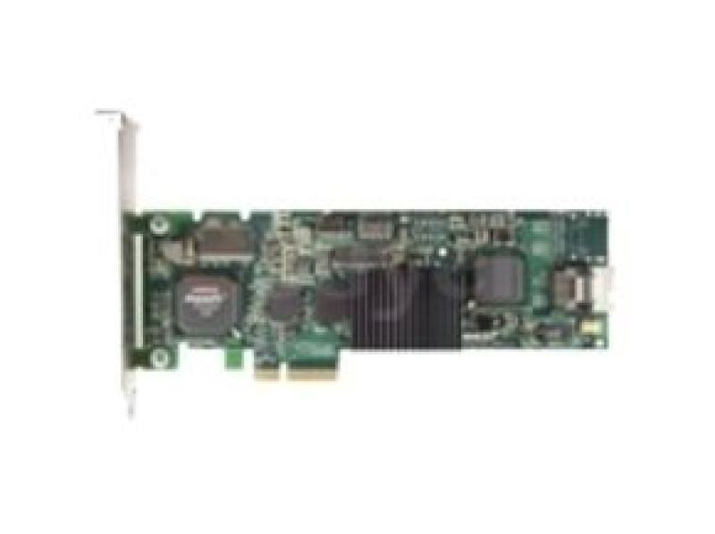 3ware 9650SE-4LPML - Storage controller (RAID) - SATA-300 low profile - 300 MBps - RAID 0, 1, 5, 10, 50, JBOD - PCI Express x4 Single