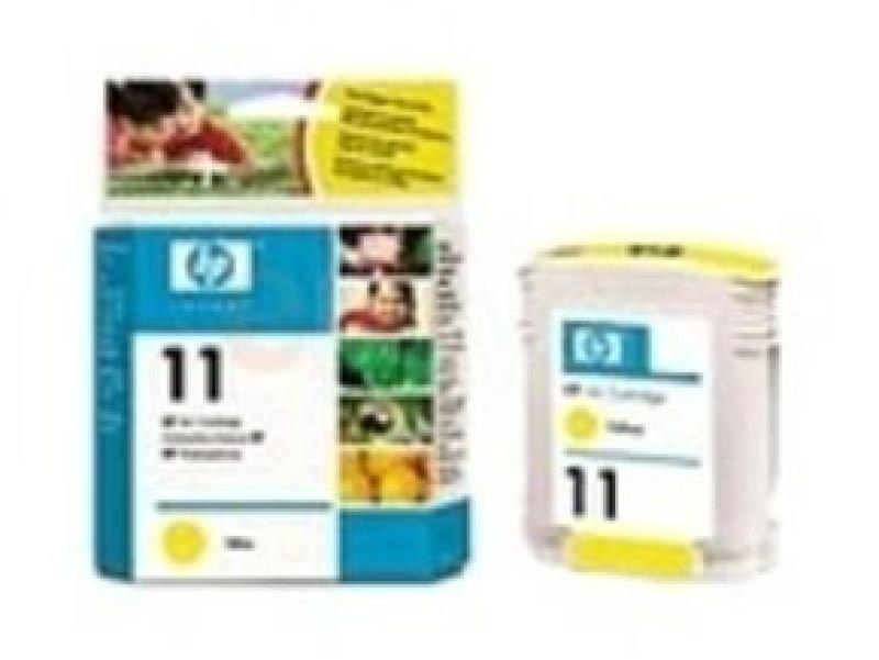 HP 11 Yellow OriginalInk Cartridge - Standard Yield 2000 Pages- C4838AE