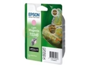 Epson T0346 17ml Pigmented Light Magenta Ink Cartridge 440 Pages
