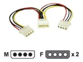 C2G, Internal Power Y-Cable for 5.25in Connectors