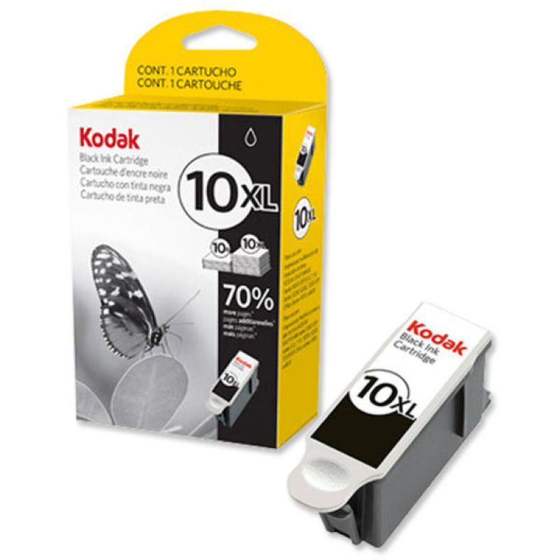 Image of Kodak 10XL Black Ink Cartridge