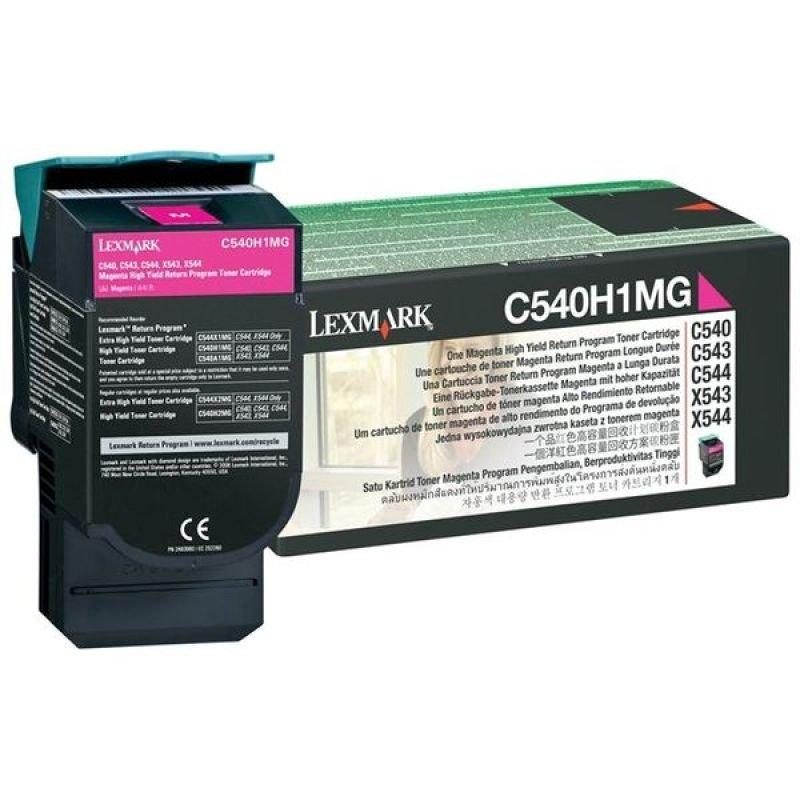 Lexmark C540H1 Magenta HY Toner cartridge