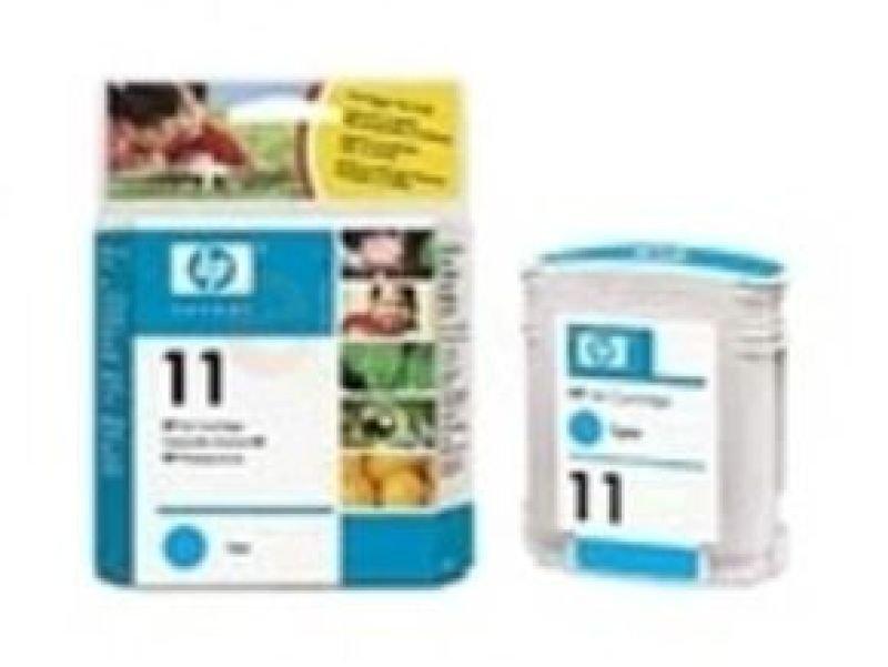 HP 11 Cyan OriginalInk Cartridge - Standard Yield 2000 Pages - C4836AE