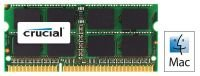Crucial 8GB DDR3 1600MT/s Laptop Memory for Mac