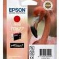Epson T0877 11.4ml Red Ink Cartridge
