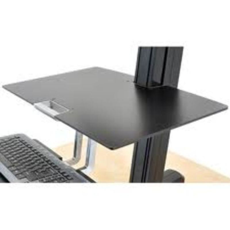 Ergotron WorkFit-S Worksurface - Mounting component ( shelf ) for Tablet PC - black