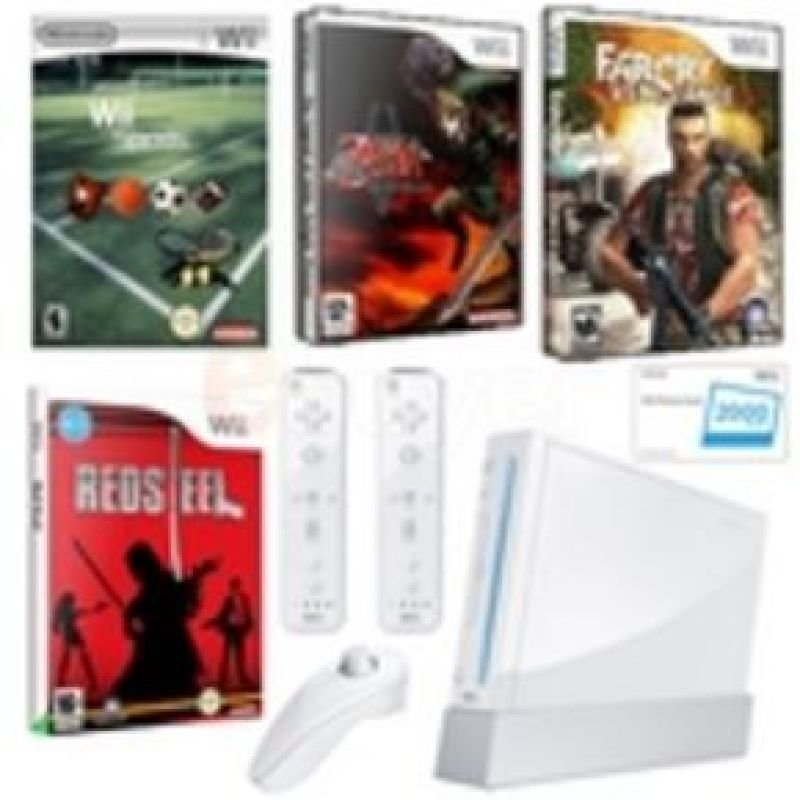The Ultimate Nintendo Wii Package