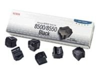 Xerox - Solid inks - 6 x black - 6000 pages