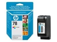 HP 78 - Print cartridge - 1 x yellow, cyan, magenta - 450 pages