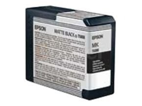 Epson T5808 80ml Matte Black Ink Cartridge