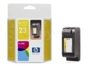 HP 23 Tri Colour Ink Cartridge - Yellow, Magenta, Cyan - C1823D