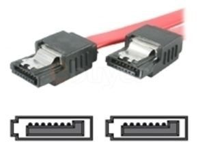 StarTech.com 18in Latching SATA Cable - Serial ATA Cable