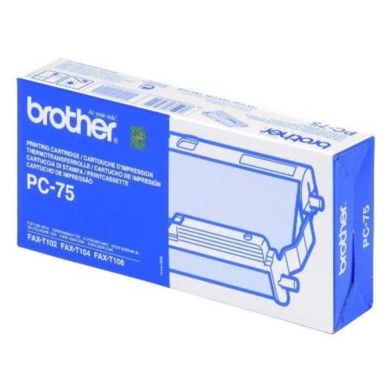 Brother PC75 Black Ribbon