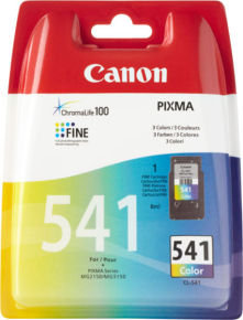 Canon CL-541 BL EUR W/O SEC Colour Ink Cartridge