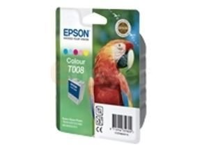 Epson T008 - Print cartridge - 1 x colour (cyan, magenta, yellow, light cyan, light magenta) - 220 pages