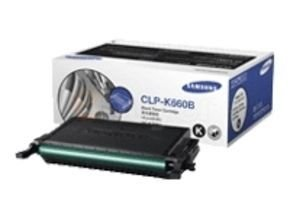 *Samsung CLP-K660B Black High Yield Toner Cartridge - 5,500 Pages