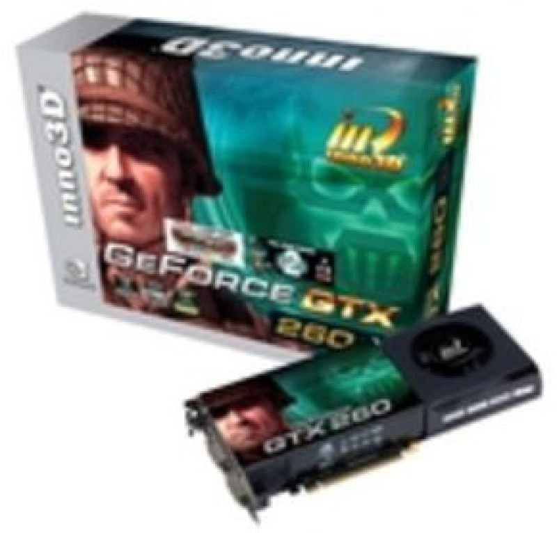 Inno3D GTX260 896MB DDR3 448bit Dual DVI HDTV Out PCI-E Graphics Card