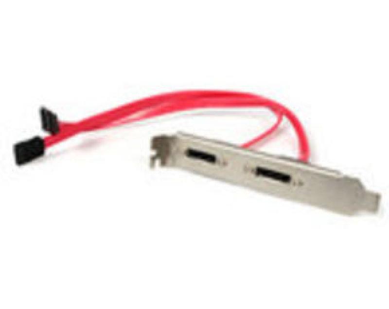Startech 2 Port Sata To Esata Slot - Plate M/F