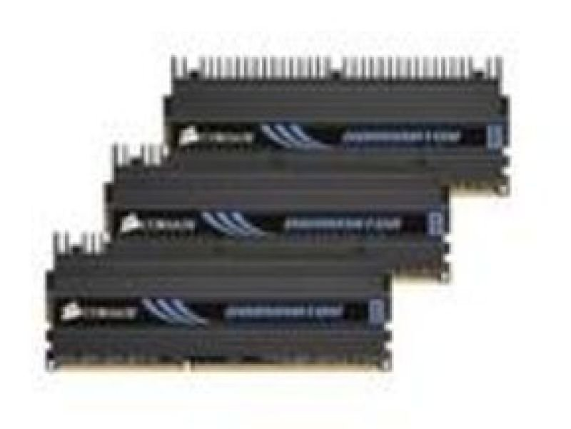Corsair 6GB (3x2GB) DDR3 1600MHz XMS3 Dominator Memory CL8(8-8-8--24) for  i7 Motherboards