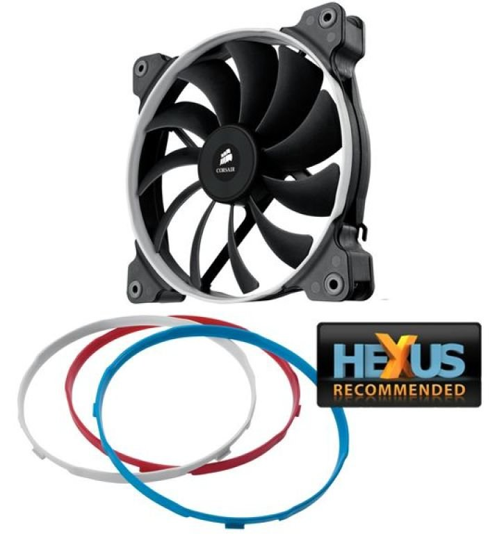 Corsair AF140 140mm Low Noise High Airflow Fan for Case Cooling 3 pin Single Pack