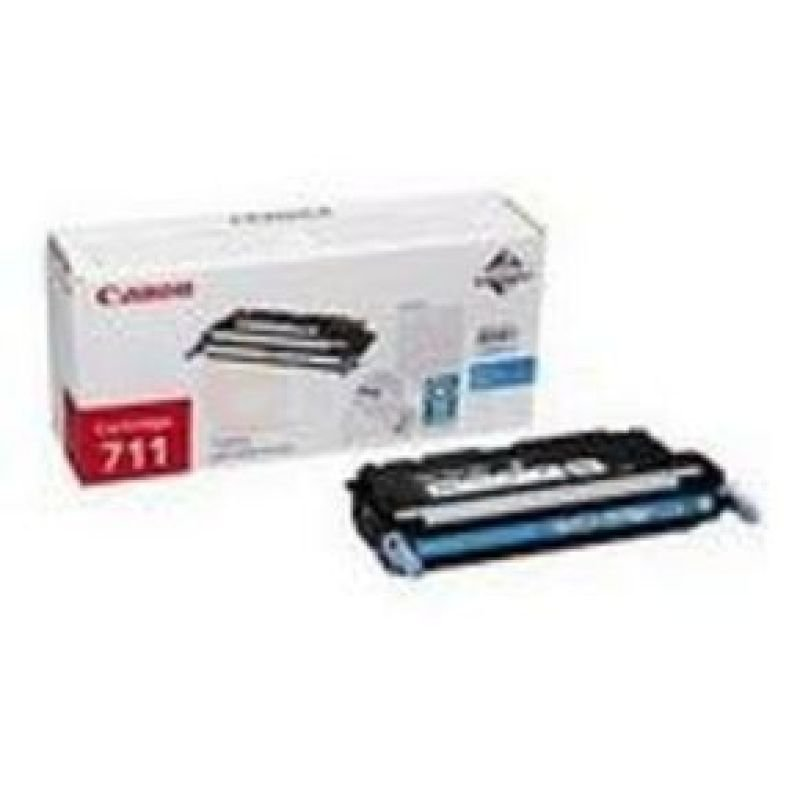 Canon 711 Cyan Laser Toner Cartridge 6000 Pages
