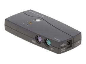 Belkin OmniView E Series 2 Port KVM Switch 1 local user