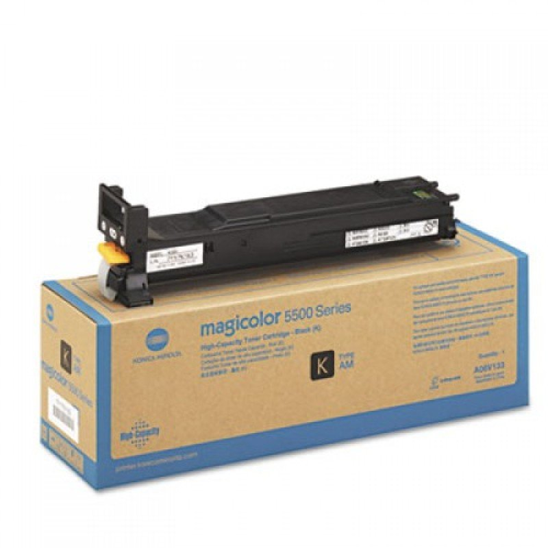 Konica Minolta Mag55xx Black Toner Cartridge