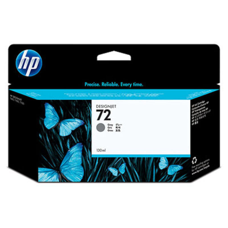 HP 72 Grey Original Ink Cartridge - High Yield 130ml - C9374A