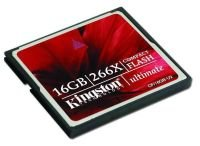 Kingston 16GB 266x Ultimate Compact Flash Card