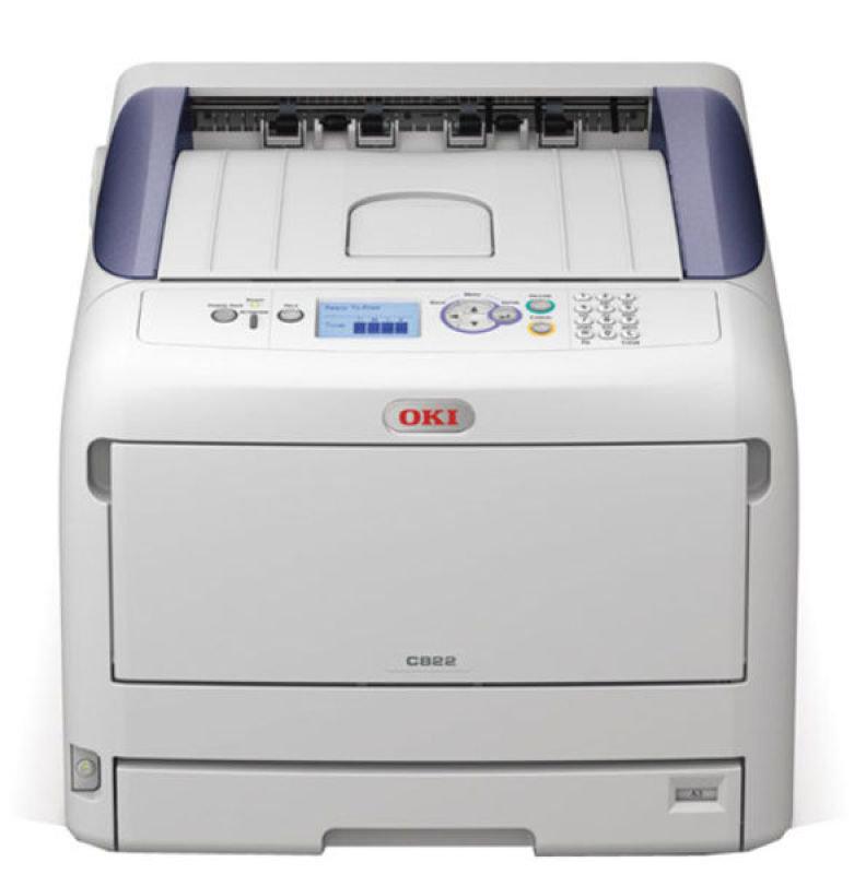 Image of *OKI C822N A3 Network Colour Laser Printer