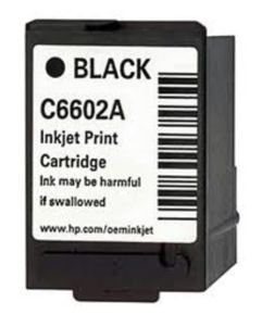 *HP C6602A Black Generic Inkjet Print Cartridge - C6602A