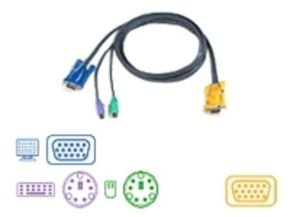 ATEN 2L-5202P Keyboard / video / mouse (KVM) cable 1.8m