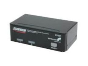 Startech 2 Port Starview KVM Switch - Uk