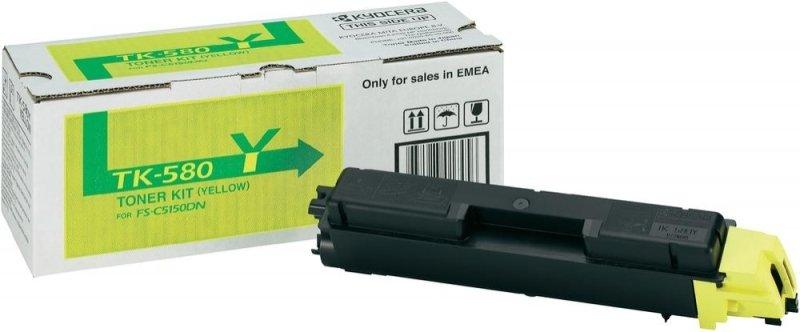 Kyocera TK 580Y Yellow Toner cartridge