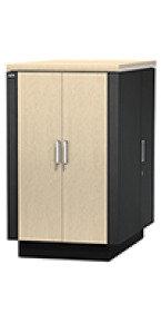 APC NetShelter CX 24U Secure Soundproofed Server Room in a Box Enclosure International