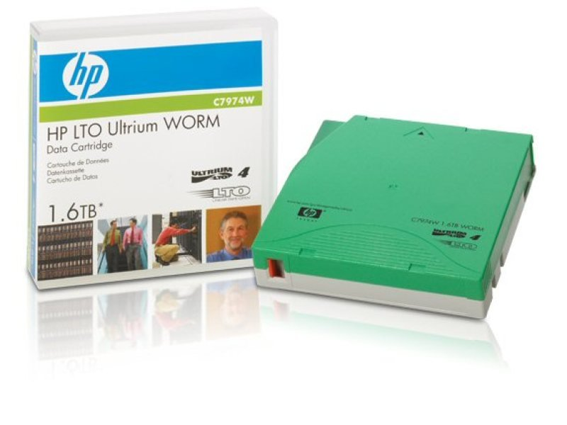 HP LTO 4 Ultrium WORM 800 GB/ 1.6 TB Back Up Media Tape